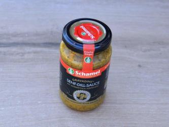 Schamels Senf-Dill-Sauce...